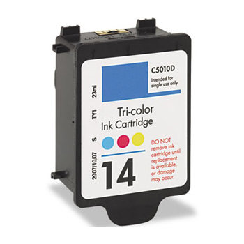 HP 14D Tri-Color Compatible Inkjet Cartridge C5010DN C5010D HP #14